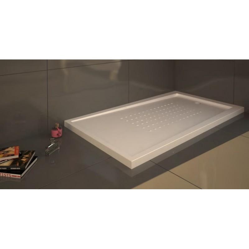 Instalar plato de ducha acrilico great que asientes muy bien su base rellenando los huecos con - Como instalar un plato de ducha acrilico ...